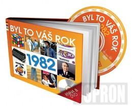 Byl to váš rok 1982 - DVD+kniha - neuveden