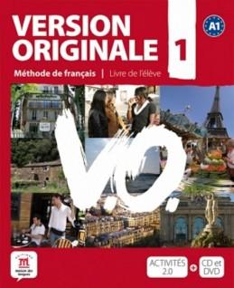 Version Originale 1 – Livre de léleve + CD + DVD - neuveden