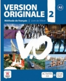 Version Originale 2 – Livre de léleve + CD + DVD - neuveden