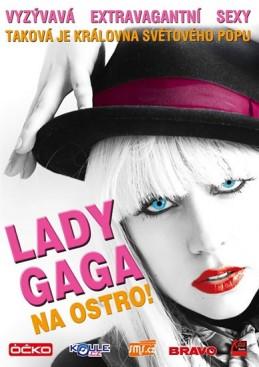 Lady Gaga - Na ostro! - DVD - neuveden