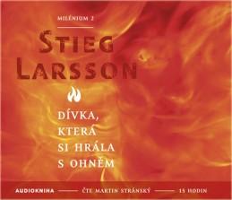Dívka, která si hrála s ohněm - Milénium 2 - 2CD mp3 - Larsson Stieg