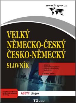 Velký německo-český/ česko-německý slovník - CD-ROM - neuveden
