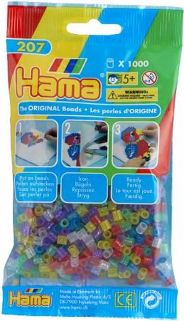Hama H207-54 - Zažehlovací korálky MIDI mix IV 1.000 ks