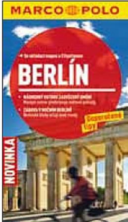 Berlín - Průvodce se skládací mapou - neuveden
