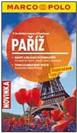Paříž - Průvodce se skládací mapou - neuveden
