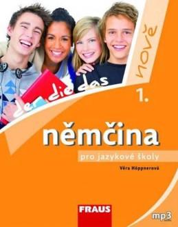 Němčina pro jazykové školy nově 1 UČ - Höppnerová Věra