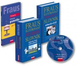 FRAUS studijní komplet 4 v 1 - německý jazyk - neuveden