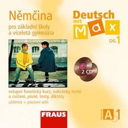 Deutsch mit Max A1/díl 1 - CD /2ks/ - neuveden