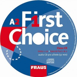 First Choice A2 - CD pro učitele /1ks/ - neuveden