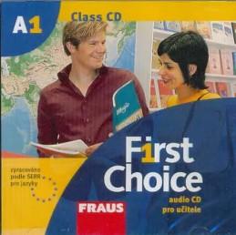First Choice A1 - CD pro učitele /1ks/ - neuveden