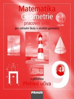 Matematika 9 pro ZŠ a víceletá gymnázia - Geometrie - pracovní sešit - kolektiv autorů