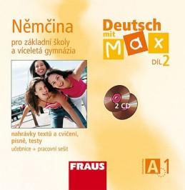 Deutsch mit Max A1/díl 2 - CD /2ks/ - neuveden