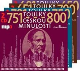 Toulky českou minulostí - komplet 601-800 - 8CD/mp3 - kolektiv autorů