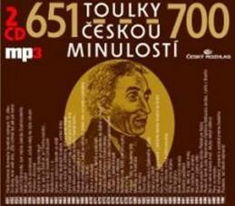 Toulky českou minulostí 651-700 - 2CD/mp3 - kolektiv autorů