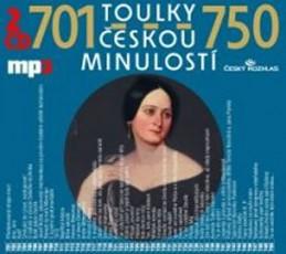 Toulky českou minulostí 701-750 - 2CD/mp3 - kolektiv autorů