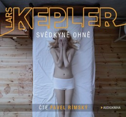 Svědkyně ohně - 2CDmp3 (Čte Pavel Rímský) - Kepler Lars