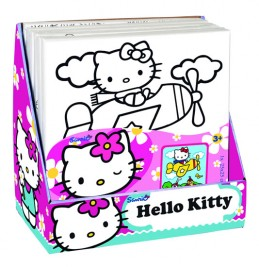 Hello Kitty - Malování na plátno - neuveden