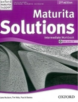 Maturita Solutions 2nd Edition Intermediate Workbook with Audio CD CZEch Edition - Falla Tim, Davies Paul A.