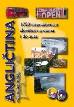 Angličtina nejen pro řidiče - 1750 interaktivních slovíček na doma i do auta - Pařízková Štěpánka