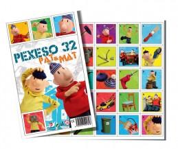 Pexeso 32 - Pat a Mat - neuveden