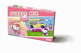 Puzzle 80/160 - Hello Kitty - neuveden