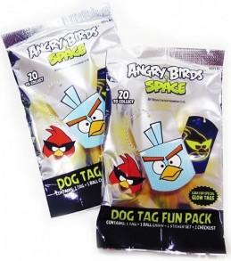 Přívěsek na krk Angry Birds(psí známka) - neuveden