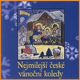 Nejmilejší české vánoční koledy - CD - neuveden