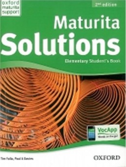 Maturita Solutions 2nd Edition Elementary Student´s Book CZEch Edition - Falla Tim, Davies Paul A.