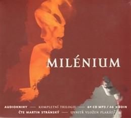Milénium - kompletní trilogie - 6CD (Čte Martin Stránský) - Larsson Stieg