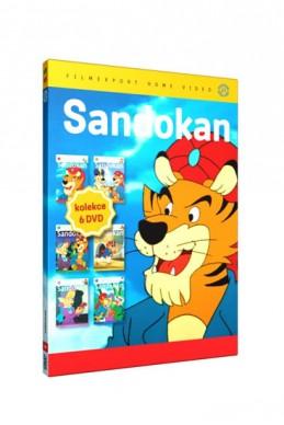 Sandokan 1.- 6. - 6 DVD - neuveden