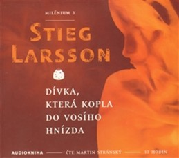 Dívka, která kopla do vosího hnízda - Milénium 3 - 2CDmp3 - Larsson Stieg