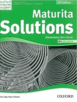 Maturita Solutions 2nd Edition Elementary Workbook with Audio CD CZEch Edition - Falla Tim, Davies Paul A.