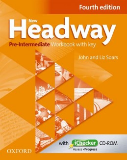 New Headway Fourth Edition Pre-Intermediate Workbook with Key + iChecker CD - Soars John and Liz
