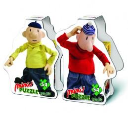 Puzzle Mini 54 - Pat a Mat - neuveden