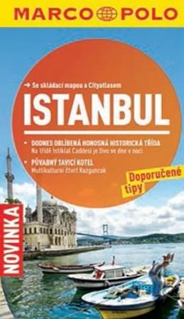 Istanbul - Průvodce se skládací mapou - neuveden