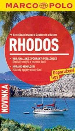 Rhodos - Průvodce se skládací mapou - neuveden
