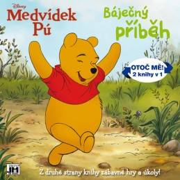 Medvídek Pú Báječný příběh-Otoč mě! 2 knihy v 1 - neuveden
