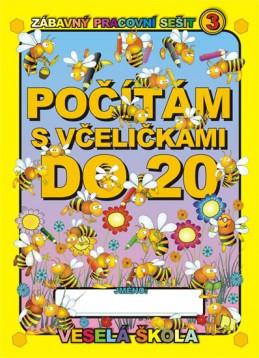 Počítám s včeličkami do 20 - Mihálik Jan
