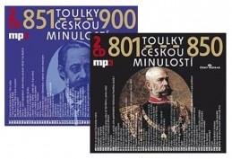 Toulky českou minulostí - komplet 801-900 - 4CD/mp3 - kolektiv autorů