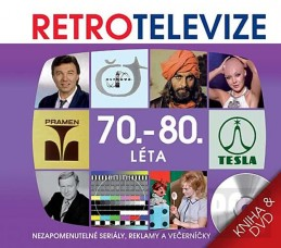 Retro televize - 70.-80. léta - DVD + kniha - neuveden