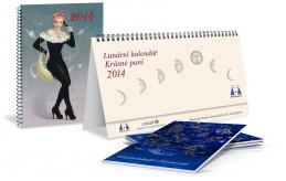 Lunární kalendář Krásné paní 2014 - Kanyzová Žofie