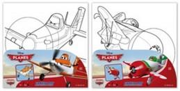 Letadla Malování na plátno - neuveden