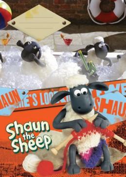 Ovečka Shaun - Sešit A4, 40 listů, čtverečkovaný - neuveden
