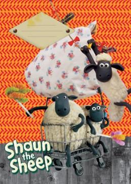 Ovečka Shaun - Sešit A4, 40 listů, linkovaný - neuveden