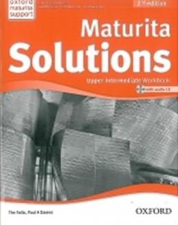 Maturita Solutions 2nd Edition Upper Intermediate Workbook with Audio CD CZEch Edition - Falla Tim, Davies Paul A.