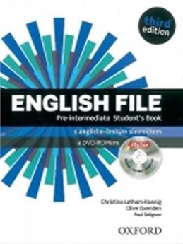 English File Third Edition Pre-Intermediate Student´s Book + iTutor DVD CZ - Latham-Koenig, Ch.; Oxengen, C.; Selingson, P.