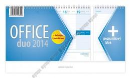 Kalendář 2014 - Office duo - stolní - neuveden