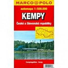 Kempy ČR a SR/mapa 1:500.000 - neuveden