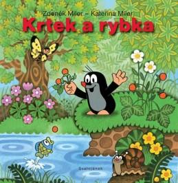 Krtek a rybka - leporelo - Miler Zdeněk, Miler Kateřina