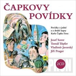 Čapkovy povídky - 2CD - Čapek Karel